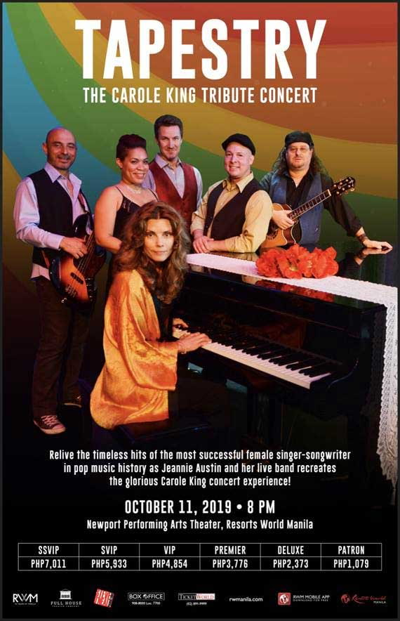 Tapestry - The Carole King Tribute Concert