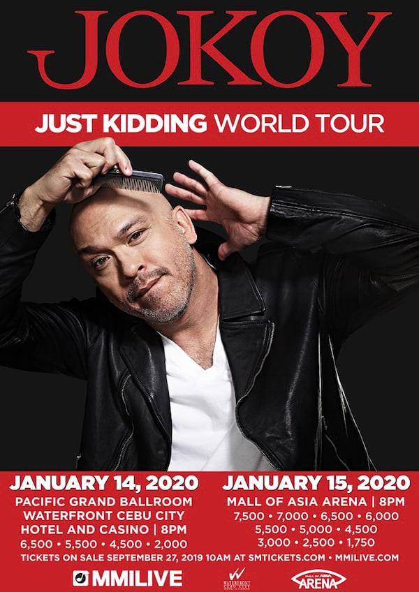 Jokoy Live In Manila