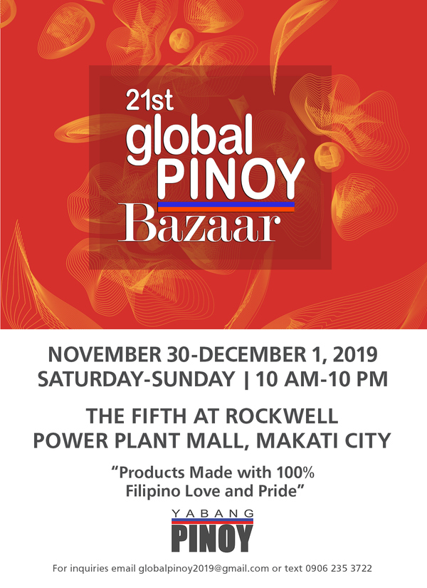 21st Global Pinoy Bazaar