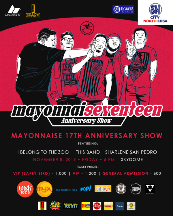 Mayonnaise 17th Anniversary
