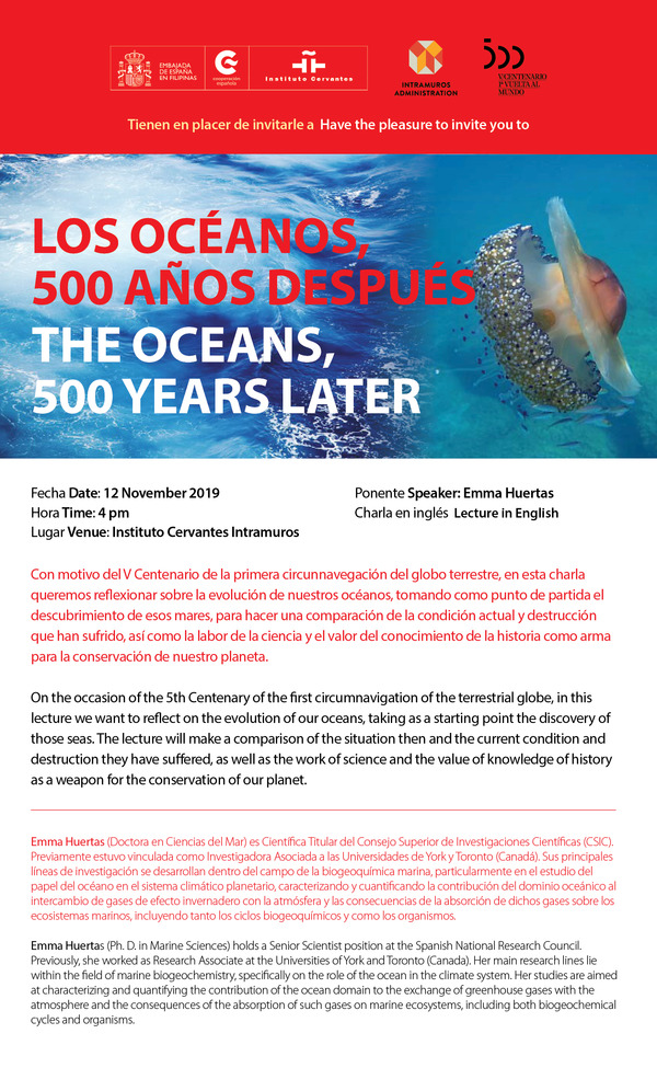 The Oceans 500 Years Later