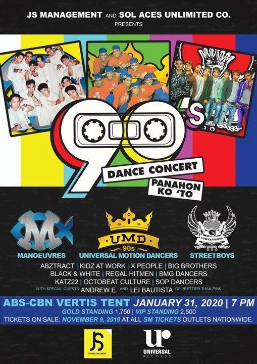 90's Dance Concert