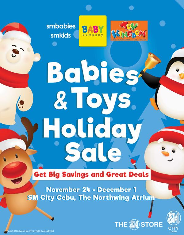 Babies & Toys Sales