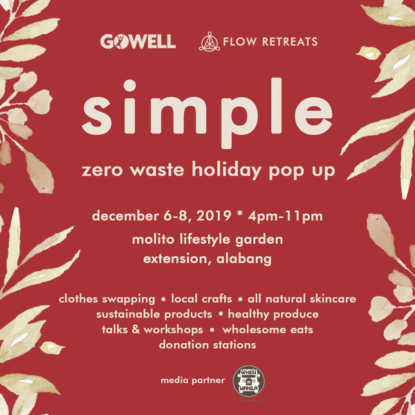 Simple Zero Waste Pop Up