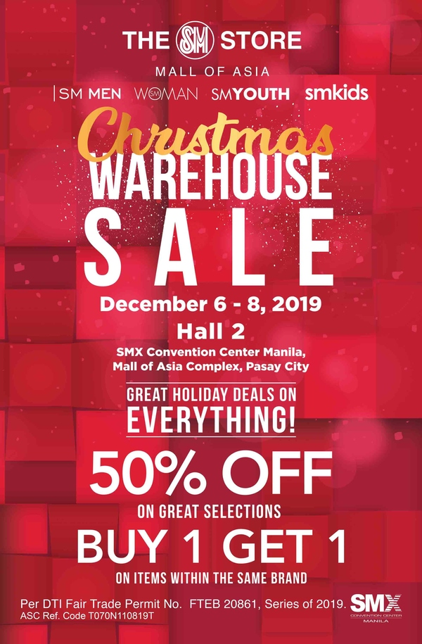 SM Christmas Warehouse Sale