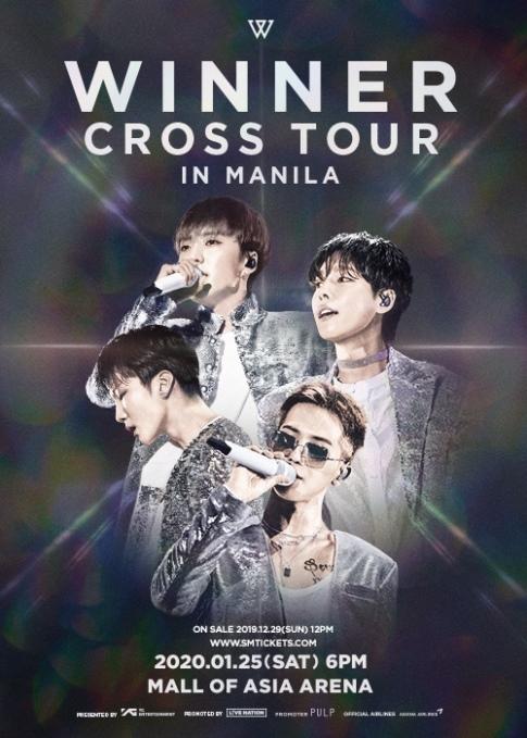 Winner Cross Tour In Manila
