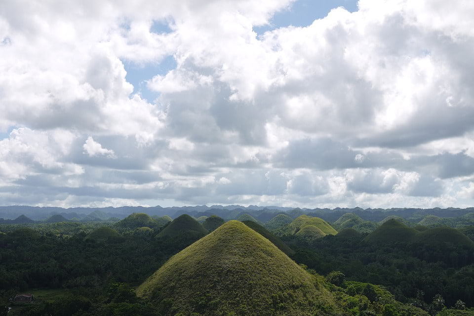 Hills, Chocolate Hills, Philippines, Bohol, Landscape