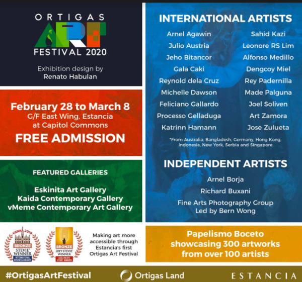Ortigas Art festival 2020