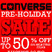 Converse Pre-Holiday Sale 2015