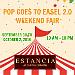Pop Goes to Easel Weekend Fair 2.0