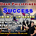 Dear Philippines, Success, is in your Genes