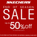 Score Up to 50% Off on Your Favorite Shoes at Skechers' End Of Season Sale!