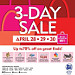 Great deals, awesome treats at SM Davao's 3 Day Sale