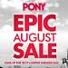 Pony Epic August Sale