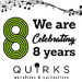 Quirks Celebrates 8 years!