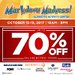 Get as much as 70% Discount at Markdown Madness 2017