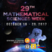 Know more about the 29th Mathematical Sciences Week
