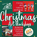 Christmas Art Workshops with Papemelroti's Robert Alejandro