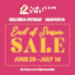 Robinsons Galleria and Robinsons Magnolia's End of Season Sale