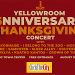 Yellow Room Anniversary Thanksgiving Concert