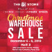 SM Christmas Warehouse Sale
