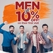 Men Get 10% Discount on All Stelton Dermascience Treatments for their First Visit