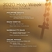 Online Mass Schedules For Celebrating Holy Week 2020 at Home