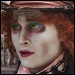 Johnny Depp, the Mad Hatter in 'Alice in Wonderland'
