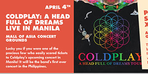 Coldplay: A Head Full of Dreams Live in Manila