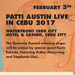 Patti Austin Live in Cebu 2017