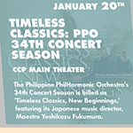 Timeless Classics: PPO 34th Concert Season