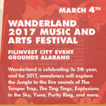 Wanderland 2017 Music and Arts Festival
