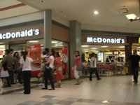 McDonald's, 2nd Level, Robinsons Galleria, Pasig, Metro Manila