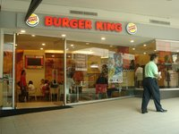Burger King, 2nd Level, Glorietta 4, Makati