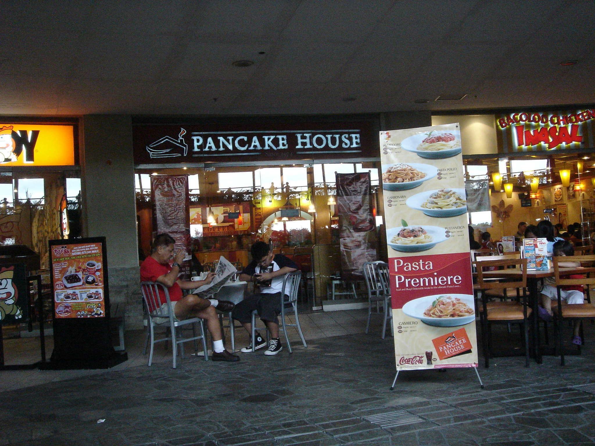 Pancake House Trinoma Quezon City Metro Manila International