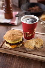 Coffee and Steak Biscuit