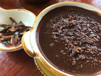 Brown Rice Champorado with Tuyo