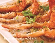 Gloriamaris - Steamed Prawns with Garlic