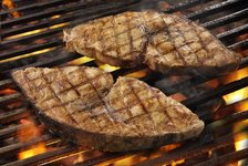 Gerry's Grill: Grilled Blue Marlin
