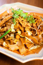 Phad Thai Banana Leaf Style