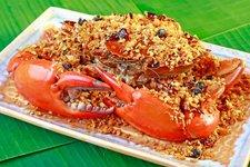 Stir Fried Crab with Spicy Golden Garlic