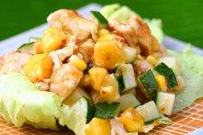 Roast Chicken & Mango Salad