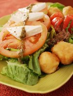 Tomato Kesong Puti Salad