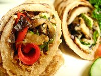 Roasted Veggies Wrap