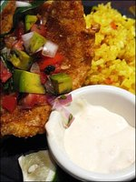 TGI Fridays - Santa Monica Tortilla Crusted Fish