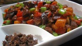 Grilled Pork Binagoongan