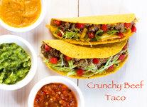Crunchy Beef Taco