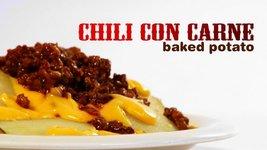 Chili Con Carne Baked Potato