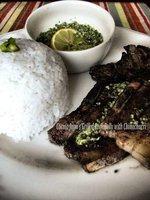 Pork Belly con Chimichurri