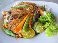 Vegetarian pancit bihon